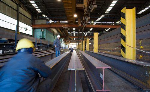 تولید تیرآهن با سفارش مشتری