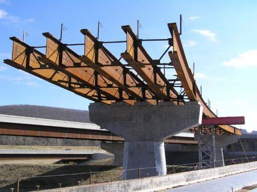 ساخت پل با تیر ورق