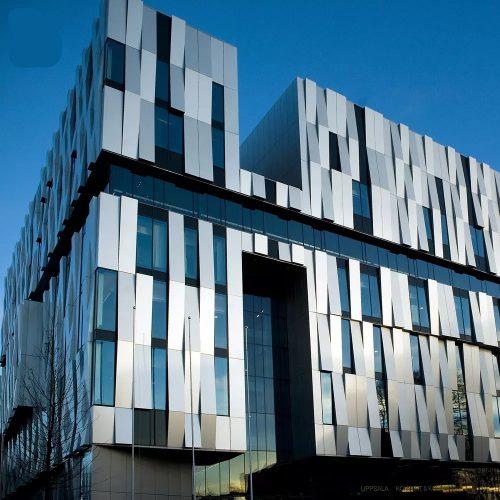 ورق آلومینیوم در نمای ساختمان