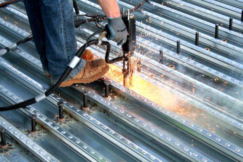 نحوه تولید عرشه فولادی