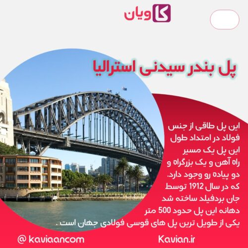 پل بندر سیدنی استرالیا